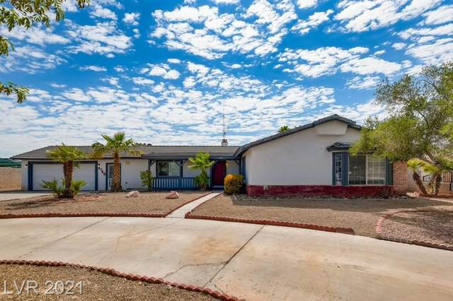 4740 Valley Drive, North Las Vegas, NV 89031 (MLS #2313174) :: Lindstrom Radcliffe Group
