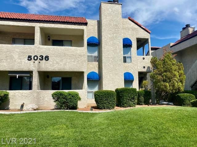 5036 Newport Cove Drive D, Las Vegas, NV 89119 (MLS #2313215) :: Custom Fit Real Estate Group