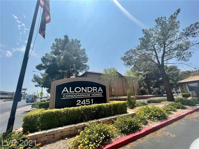 2451 N Rainbow Boulevard #2148, Las Vegas, NV 89108 (MLS #2313350) :: Custom Fit Real Estate Group