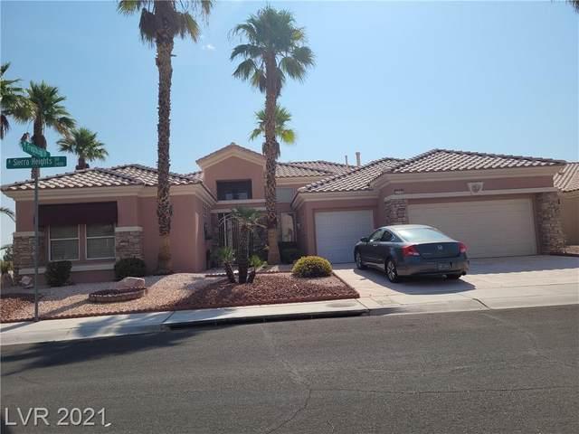 2408 Sierra Heights Drive, Las Vegas, NV 89134 (MLS #2313418) :: Lindstrom Radcliffe Group