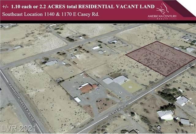 1170 E Casey Road, Pahrump, NV 89048 (MLS #2313843) :: Keller Williams Realty