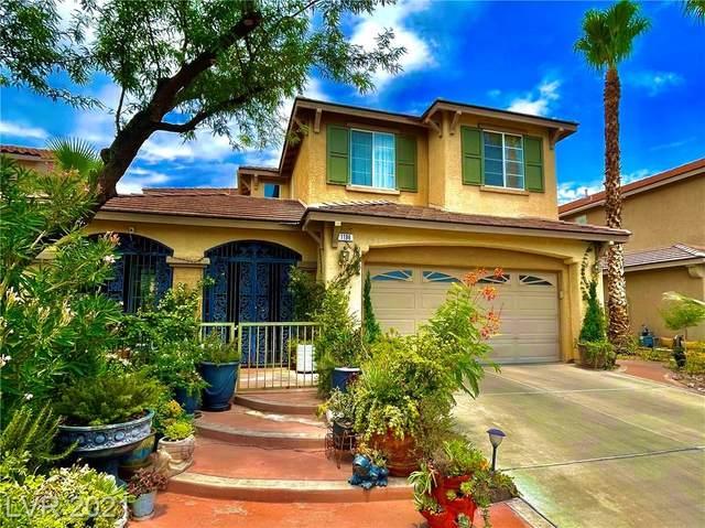 1196 Tranquil Rain Avenue, Henderson, NV 89012 (MLS #2313851) :: Keller Williams Realty