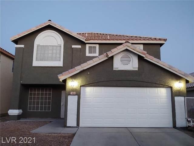 5900 Royal Castle Lane, Las Vegas, NV 89130 (MLS #2314244) :: Lindstrom Radcliffe Group