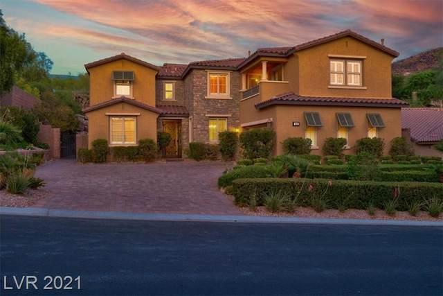 896 Cantura Mills Road, Henderson, NV 89052 (MLS #2314487) :: Keller Williams Realty