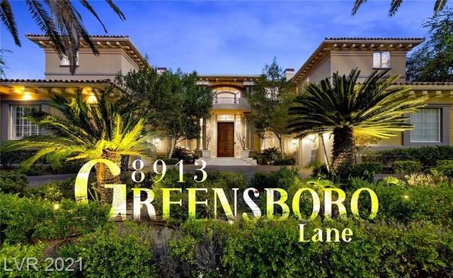 8913 Greensboro Lane, Las Vegas, NV 89134 (MLS #2314540) :: Coldwell Banker Premier Realty
