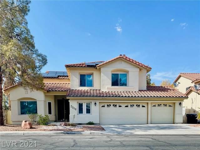2518 El Paso Grande Avenue, Henderson, NV 89074 (MLS #2314666) :: Lindstrom Radcliffe Group