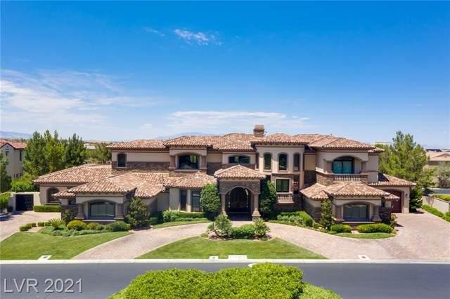 11 Quintessa Circle, Las Vegas, NV 89141 (MLS #2314715) :: Lindstrom Radcliffe Group