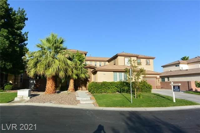 5966 Hopkinsville Court, Las Vegas, NV 89148 (MLS #2315007) :: Lindstrom Radcliffe Group