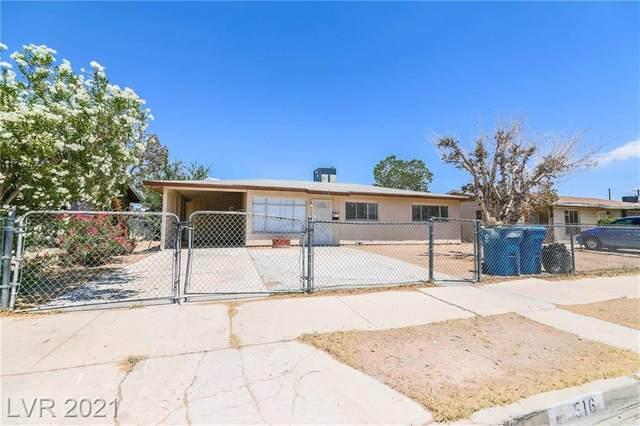 516 Wyatt Avenue, Las Vegas, NV 89106 (MLS #2315086) :: Lindstrom Radcliffe Group