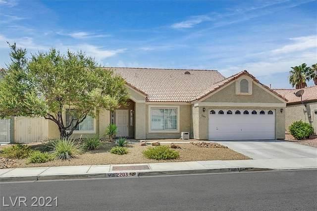 2203 Lapalco Avenue, North Las Vegas, NV 89031 (MLS #2315532) :: Custom Fit Real Estate Group