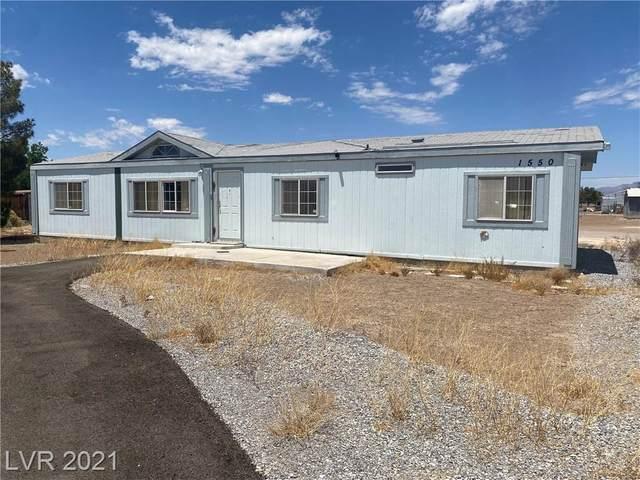 1550 Fawn Street, Pahrump, NV 89048 (MLS #2315537) :: Hebert Group | Realty One Group