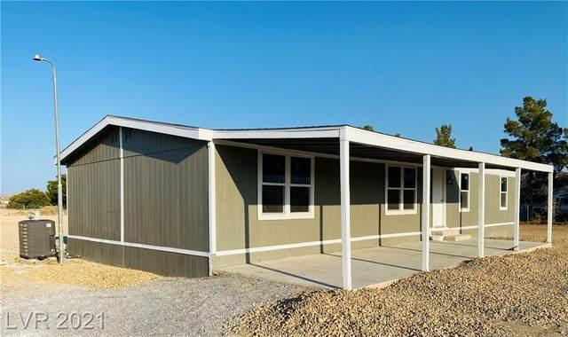 6291 Cajon Lane, Pahrump, NV 89048 (MLS #2315657) :: Lindstrom Radcliffe Group