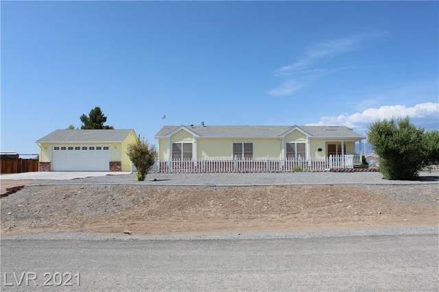 350 E Falcon Street, Pahrump, NV 89048 (MLS #2315660) :: Custom Fit Real Estate Group