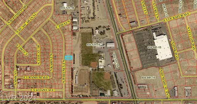 161 Whitney Lane, Pahrump, NV 89060 (MLS #2315698) :: Keller Williams Realty