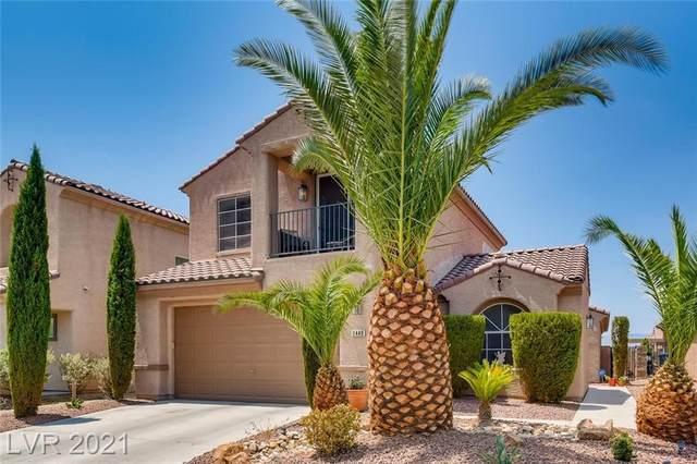 2449 Urrard Street, Henderson, NV 89044 (MLS #2315943) :: The Chris Binney Group | eXp Realty