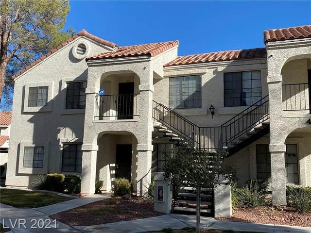 4806 Nara Vista Way #203, Las Vegas, NV 89103 (MLS #2315998) :: Signature Real Estate Group