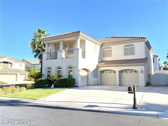 67 Living Edens Court, Las Vegas, NV 89148 (MLS #2316115) :: Team Michele Dugan
