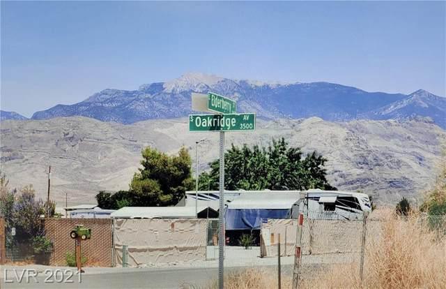 3500 Oakridge Avenue, Pahrump, NV 89048 (MLS #2316146) :: Lindstrom Radcliffe Group