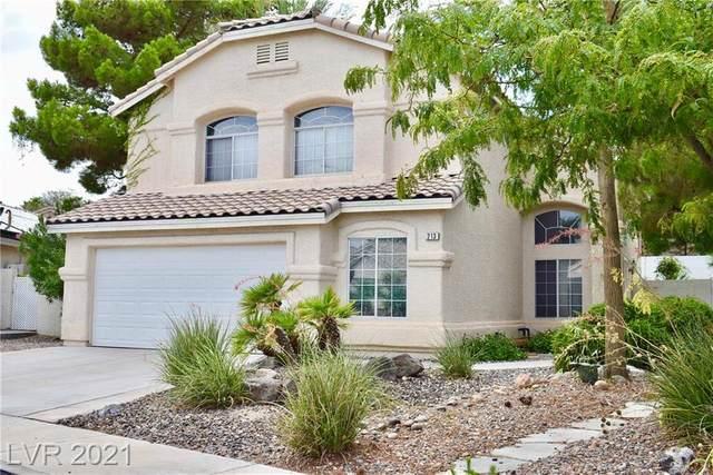 213 Cimarron Village Way, Henderson, NV 89012 (MLS #2316389) :: Signature Real Estate Group