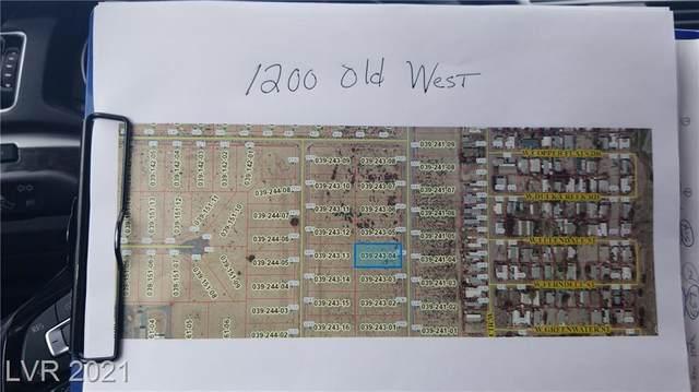 1200 Old West Avenue, Pahrump, NV 89048 (MLS #2316469) :: Custom Fit Real Estate Group