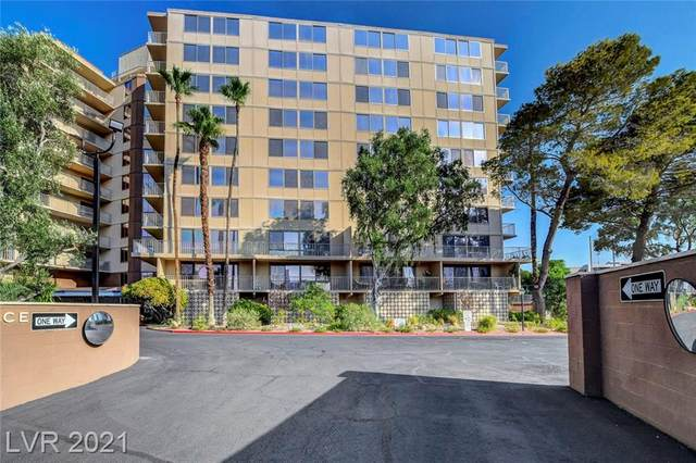 205 E Harmon Avenue #210, Las Vegas, NV 89169 (MLS #2316606) :: Custom Fit Real Estate Group