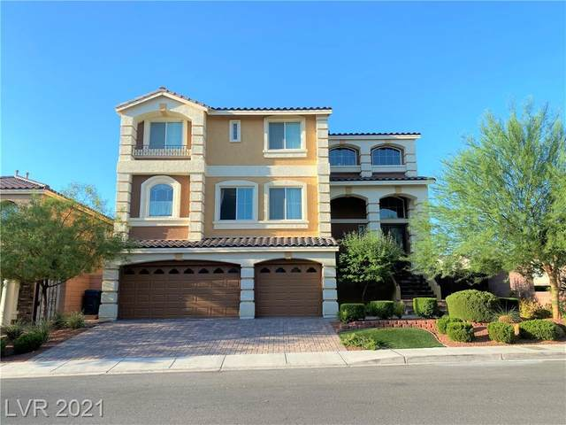 6395 Mount Eden Avenue, Las Vegas, NV 89139 (MLS #2316664) :: Custom Fit Real Estate Group