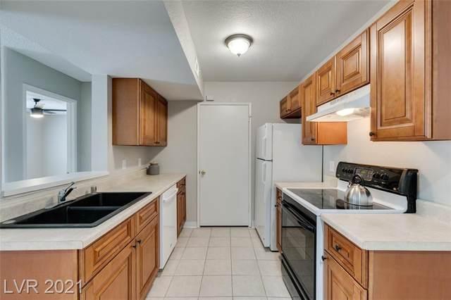 211 Mission Laguna Lane #107, Las Vegas, NV 89107 (MLS #2316839) :: Custom Fit Real Estate Group
