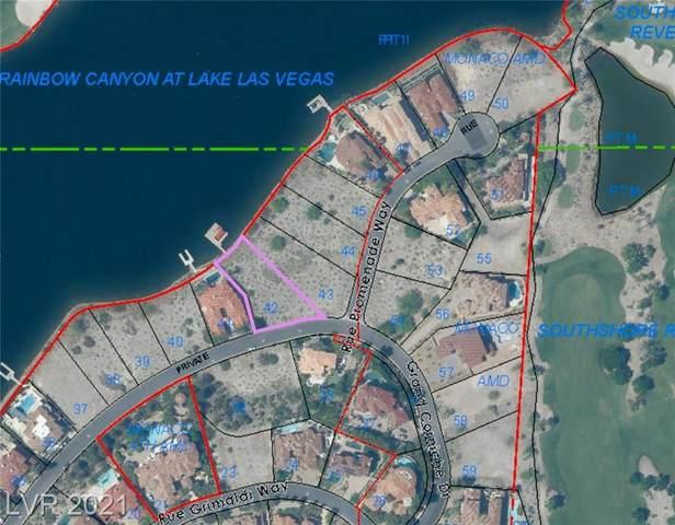 22 Grand Corniche Drive, Henderson, NV 89011 (MLS #2316845) :: Galindo Group Real Estate