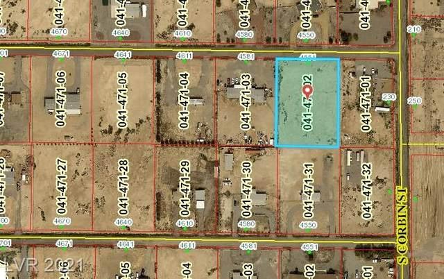 4551 W Dyer Road, Pahrump, NV 89048 (MLS #2317510) :: Lindstrom Radcliffe Group