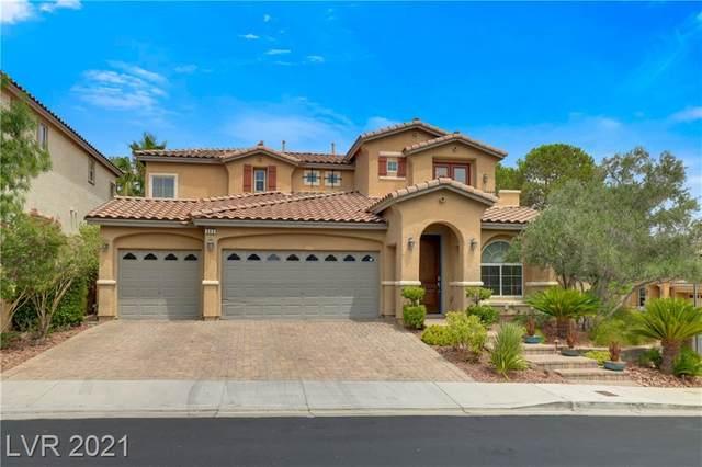 542 Los Dolces Street, Las Vegas, NV 89138 (MLS #2317515) :: DT Real Estate