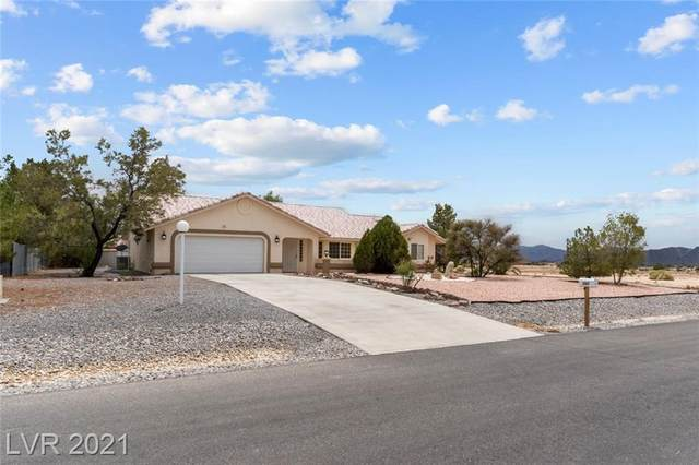 731 W Painted Trails Road, Pahrump, NV 89060 (MLS #2317573) :: The Perna Group