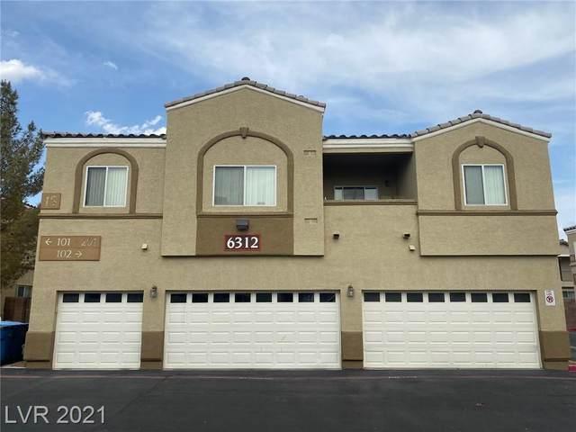 6312 Snap Ridge Street #102, North Las Vegas, NV 89081 (MLS #2317795) :: The Shear Team