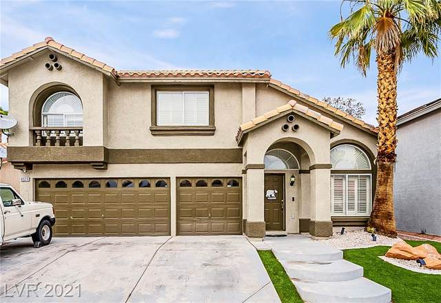 8520 Copper Mountain Avenue, Las Vegas, NV 89129 (MLS #2318082) :: The Shear Team