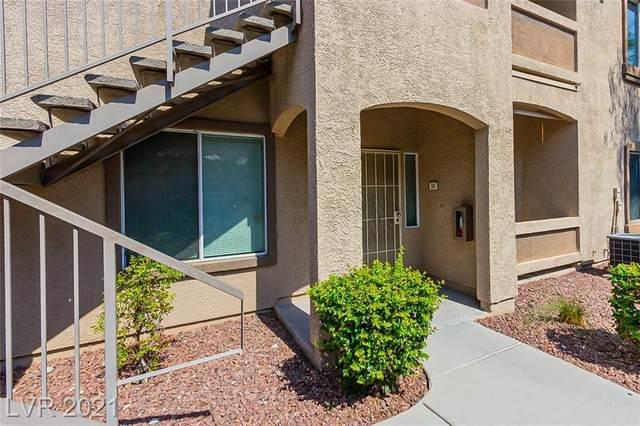 3325 Cactus Shadow Street #103, Las Vegas, NV 89129 (MLS #2318167) :: Custom Fit Real Estate Group