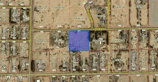2811 W Our Road, Pahrump, NV 89060 (MLS #2318191) :: Lindstrom Radcliffe Group