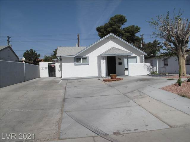 416 S 11th Street, Las Vegas, NV 89101 (MLS #2318258) :: The Melvin Team