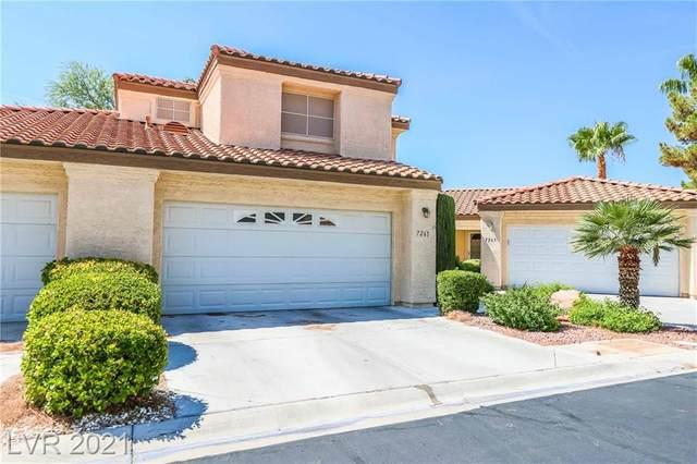 7261 Vista Bonita Drive, Las Vegas, NV 89149 (MLS #2318279) :: Lindstrom Radcliffe Group