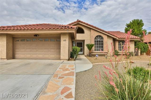 65 Chesney Drive, Henderson, NV 89074 (MLS #2318293) :: Signature Real Estate Group