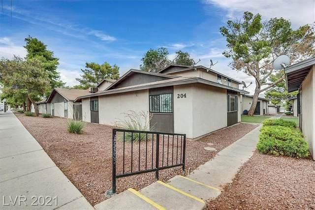 204 N Bruce Street C, Las Vegas, NV 89101 (MLS #2318806) :: The Chris Binney Group | eXp Realty