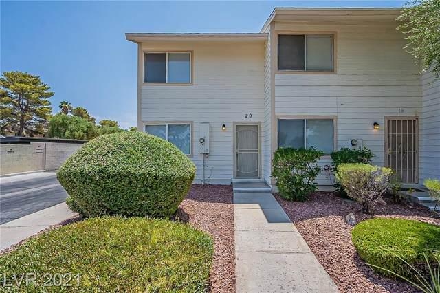 4770 Topaz Street #20, Las Vegas, NV 89121 (MLS #2318987) :: The Chris Binney Group | eXp Realty