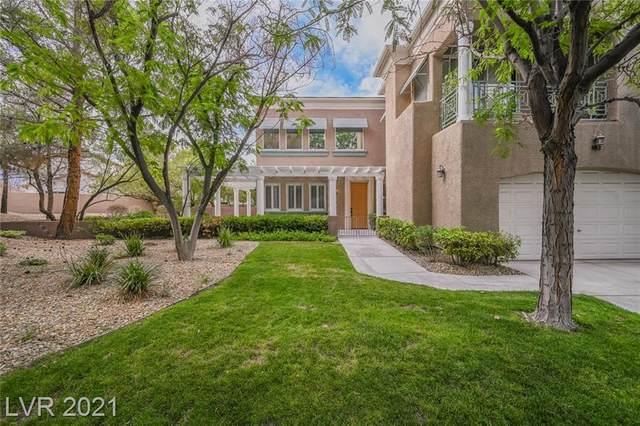 801 Dana Hills Court #102, Las Vegas, NV 89134 (MLS #2319093) :: The Shear Team
