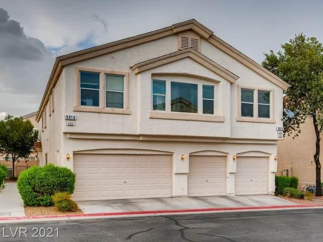 8816 Roping Rodeo Avenue #103, Las Vegas, NV 89178 (MLS #2319197) :: Alexander-Branson Team | Realty One Group