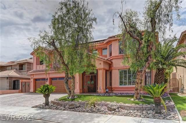 3841 Cranbrook Hill Street, Las Vegas, NV 89129 (MLS #2319306) :: Kypreos Team