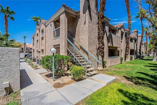 1375 E Hacienda Avenue #107, Las Vegas, NV 89119 (MLS #2319331) :: Lindstrom Radcliffe Group