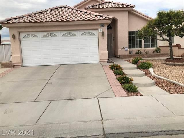 4441 Blue Royal Drive, Las Vegas, NV 89130 (MLS #2319497) :: Kypreos Team