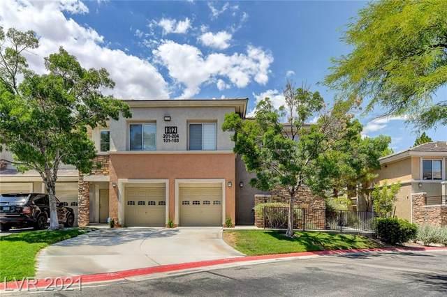 812 Peachy Canyon Circle #103, Las Vegas, NV 89144 (MLS #2319502) :: Keller Williams Realty