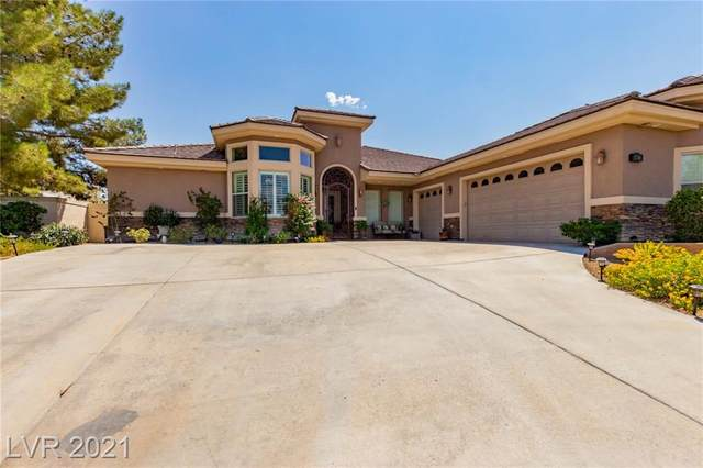 6465 Sugar Knoll Court, Las Vegas, NV 89110 (MLS #2319601) :: Lindstrom Radcliffe Group