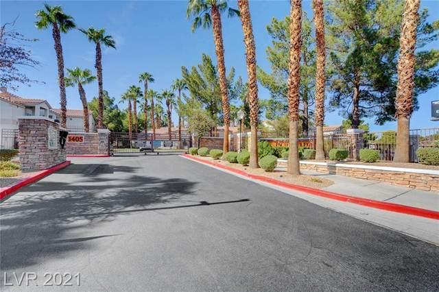 1300 S Arlington Street #107, Las Vegas, NV 89104 (MLS #2319612) :: Lindstrom Radcliffe Group