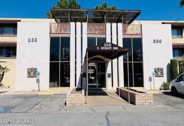 356 E Desert Inn Road #212, Las Vegas, NV 89109 (MLS #2319647) :: Lindstrom Radcliffe Group