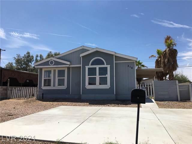 216 Navajo Drive, Henderson, NV 89015 (MLS #2319655) :: Lindstrom Radcliffe Group